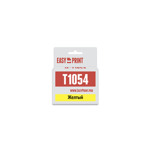 Картридж EasyPrint IE-T1054 для Epson Stylus C79/C110/CX3900/CX4900/TX200/TX209, желтый, с чипом