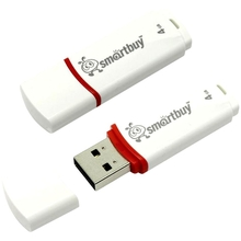 USB 4Гб 2.0 SmartBuy Crown White (белый)