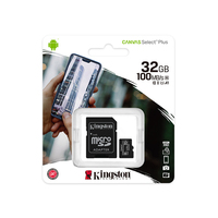 KINGSTON Canvas Select Plus 32 ГБ (SDCS2/32GB)