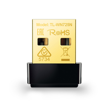 Адаптер Wi-Fi TP-Link TL-WN725N Wireless N USB Nano Adapter (802.11b/g/n, 150Mbps)