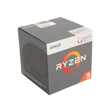 Процессор AMD Ryzen 3 2200G (YD220OC) BOX 3.5 ГГц/4core/SVGA RADEON Vega 8/2+4Mb/65W  Socket AM4