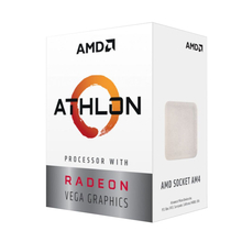 Процессор AMD Athlon 200GE BOX (YD200GC) 3.2 GHz/2core/1+4Mb/SVGA RADEON Vega 3/35W/Socket AM4