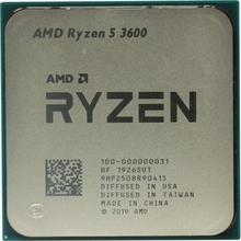 Процессор AMD Ryzen 5 3600 OEM 3.6 GHz/3+32Mb/65W Socket AM4