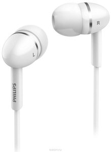 Наушники Philips SHE1450WT, белый (шнур 1.2м)