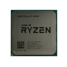 Процессор AMD Ryzen 5 2400G (YD240OC) 3.6 ГГц/4core/SVGA RADEON RX Vega 11/2+4Mb/65W  Socket AM4 OEM