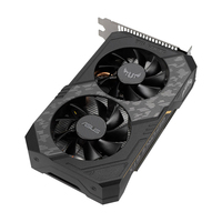 Видеокарта ASUS GeForce GTX 1650, TUF-GTX1650-O4GD6-GAMING, 4ГБ, GDDR6, Ret