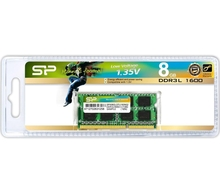 SODIMM DDR-3 8Gb PC3L-12800 SILICON POWER (SO/SP008GLSTU160N02) для ноутбука