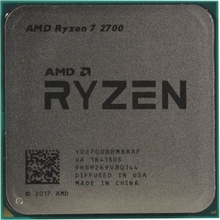 Процессор AMD Ryzen 7 2700 OEM (YD2700B) 3.2 ГГц/8core/4+16Mb/65W  Socket AM4