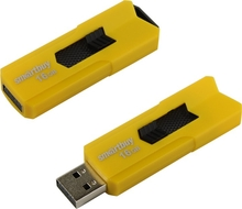 USB 16Гб 2.0 SmartBuy Stream Yellow