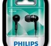 Наушники Philips SHE1450BK, черный (шнур 1.2м)